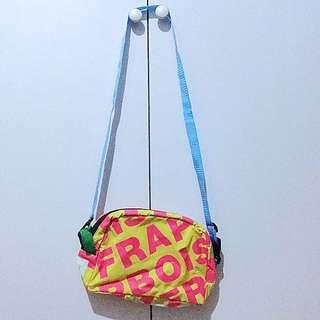 frapbois 粉紅色 x 黃色 斜揹 袋 shoulder bag