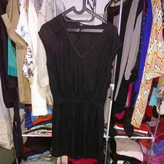 REPRICE H&M black dress
