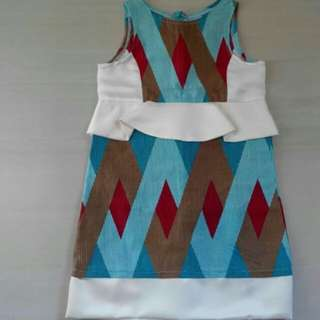 Preloved batik dress for kids