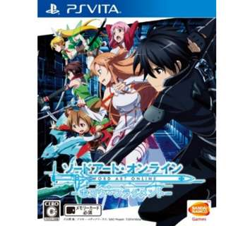 PSVita SAO Sword Art Online Hollow Fragment (PS Vita)