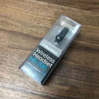 BlackBerry HS-700 Headset 藍芽耳機
