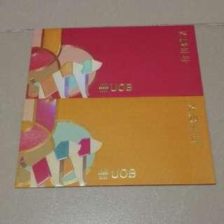UOB 2018 Ang Pow Packets