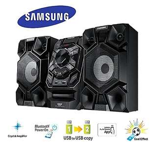 MINI-COMPO SAMSUNG  BLUETOOTH GIGA SOUND SYSTEM.  2:1 SURROUND  with STADIUM EFFECT + KARAOKE 230 RMS watts PMPO. Usual Price: $ 299. Special Price: $199  ( Brand New in Box and Sealed)