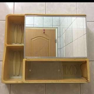 早期化妝鏡 早期鏡箱 化妝鏡 復古化妝鏡 鏡箱
