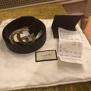 DOUBLE G Gucci Belt (100% ORI)