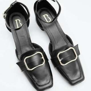 Swary Heels Bymay BLACK