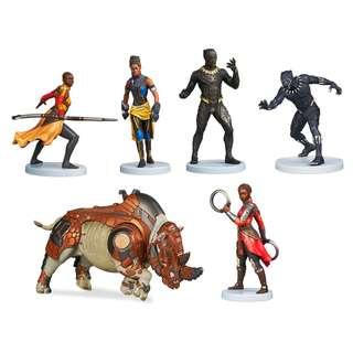 Black Panther Figure Set