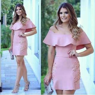 Offshoulder Elegant Dress