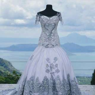 Custom-made Wedding Gown