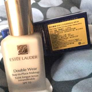 🚚 Estee Lauder Double Wear 粉持久完美持妝粉底SPF10/PA++ #1W2 SAND