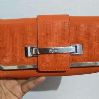Dompet Lacoste Oranye