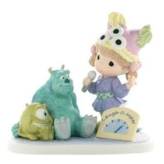 "Precious Moments Figurine - Disney's Monster Inc ""Laughter Gives Friends The Power to Share"""