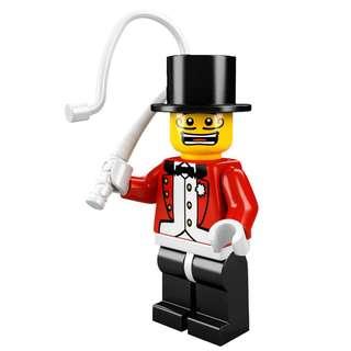 全新 Lego 8684 Minifigures Series 2 Circus Ringmaster 馬戲團團長 No.3 共1件 (全新開袋確認)