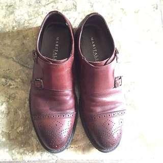 Maritalia Monkstrap Brogue Formal Shoes