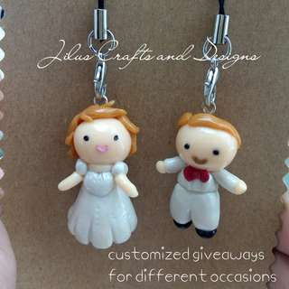 Couple Wedding Charm for Bags