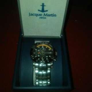 Jam tangan  jacque martin ori swiss