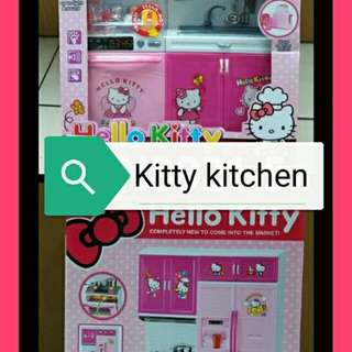 Kitty Kitchen Set