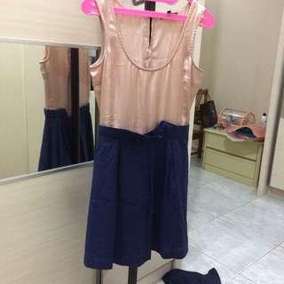 Asos 2 Tone Dress