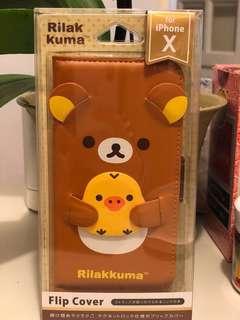 全新Rilakkuma iPhone x/6+電話殻