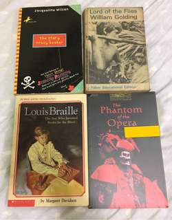二手英文故事書 second hand books - fiction