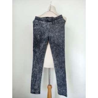 (80rb) Long pants denim anak, waist62-84cm, hip70cm, pjg87cm