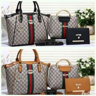[PO] Branded Set of 3 Bags