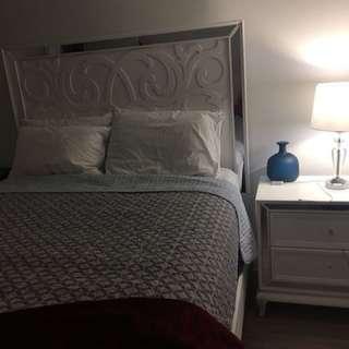 Artic Ice Queen bed set