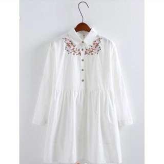 甜美森林系洋裝