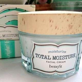 Benefit Total Moisture Facial Cream