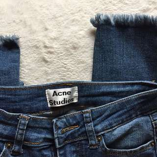 *REDUCED* ACNE STUDIOS Denim Jeans