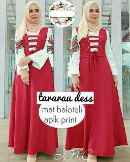 INS - 0218 - Dress Busana Muslim Tararau Maxy