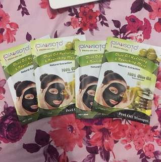 Qiansoto peel off masque olive oil