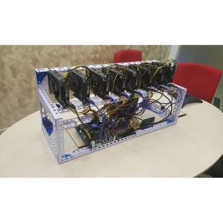 CryptoMiner™ GTX 1050 ti GPU Mining Rig