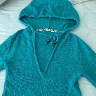Roxy Blue Knit Sweater