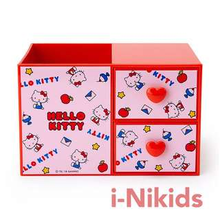 🇯🇵日本直送 - 原裝日版 Sanrio - Hello Kitty 凱蒂貓筆座連小櫃桶