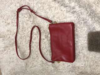 Red ZARA Sling Bag (AUTHENTIC)