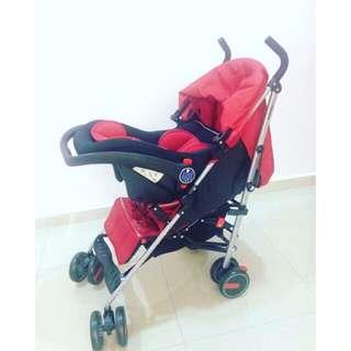 Baby Stroller Car Set