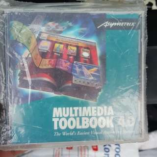 Multimedia Toolbook CD-Rom