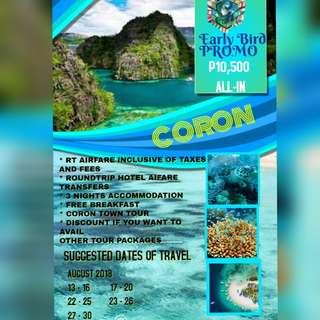 4d3n Early Bird All in Coron Package