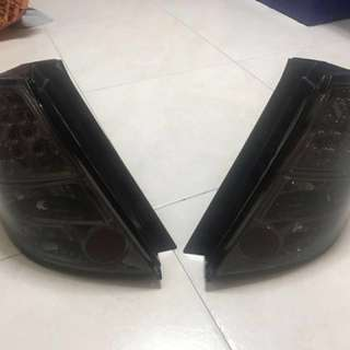 Honda Fit Tailight + Stock right hand tailight