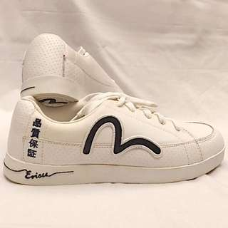 Sneakers Putih Merk EVISU (ASLI/AUTHENTIC) Size 41