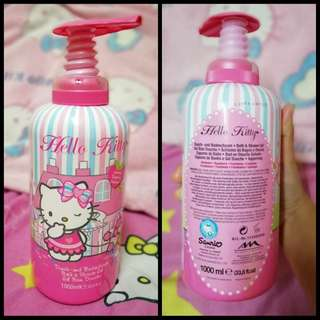 Hello kitty bath & shower gel 1000ml