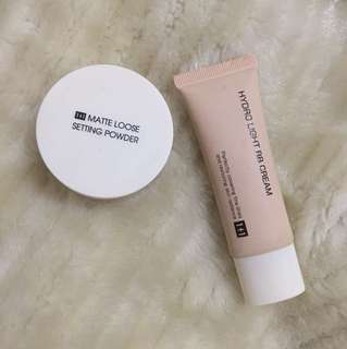 Miniso Bundle: Matte Loose Setting Powder & Hydro Light BB Cream