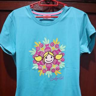 Kaos surfer girl