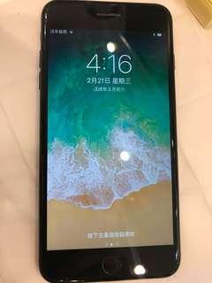 Apple I phone 7 plus 128gb 亮黑色