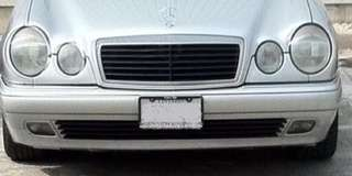 Mercedes w210 front bumper -used-