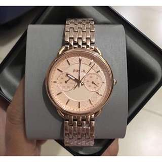 Fossil tailor rosegold