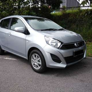 Perodua axia auto for rent