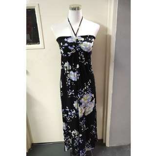 Pretty Floral Long Halter or Tube Dresses