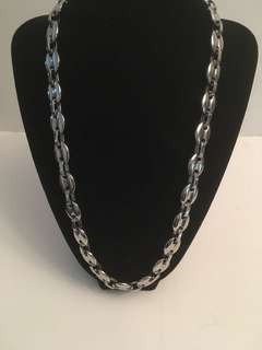 Vintage stainless steel Gucci style chain